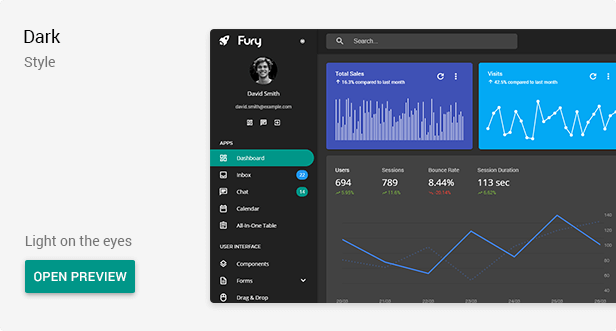dark - Fury - Angular 10+ Material Design Admin Template